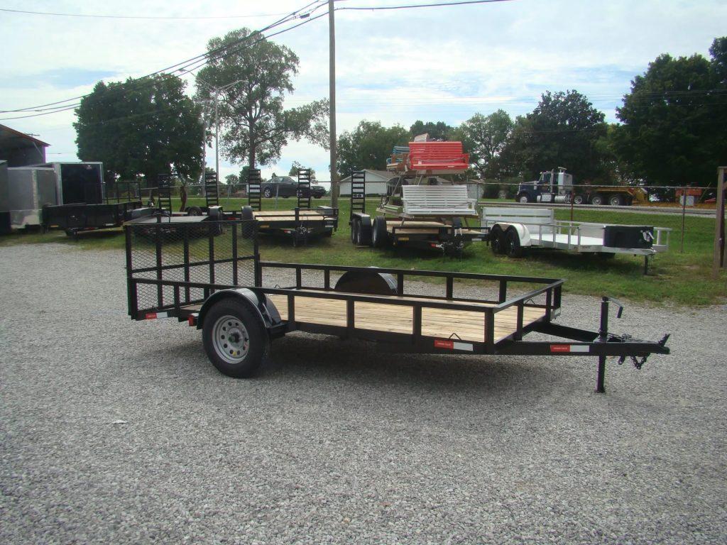 77x14 angle utility trailers