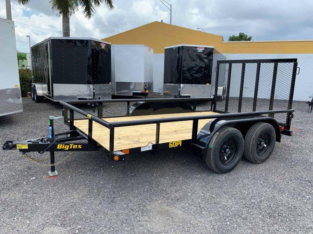 big tex utility trailers