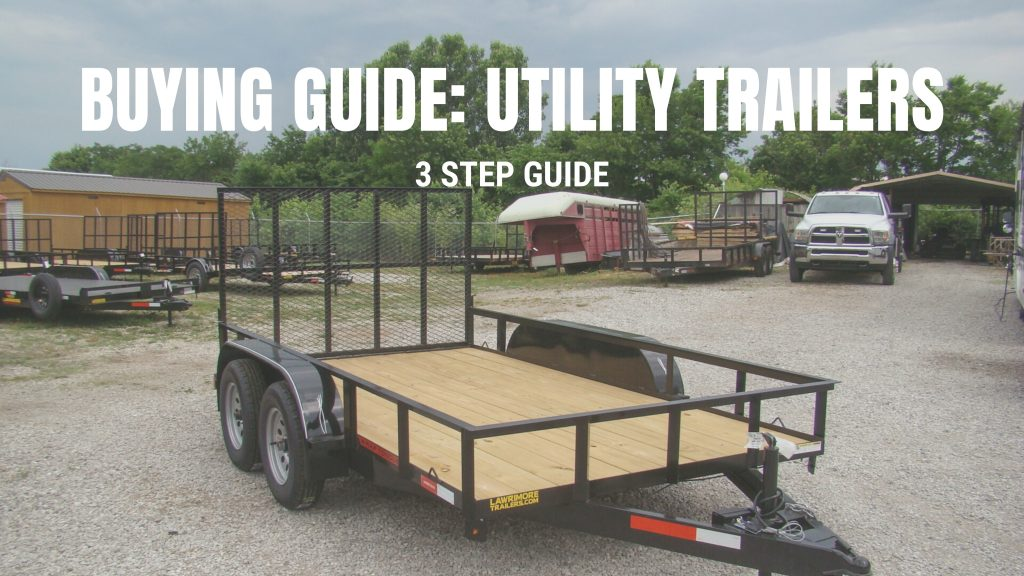 utility trailers buying guide