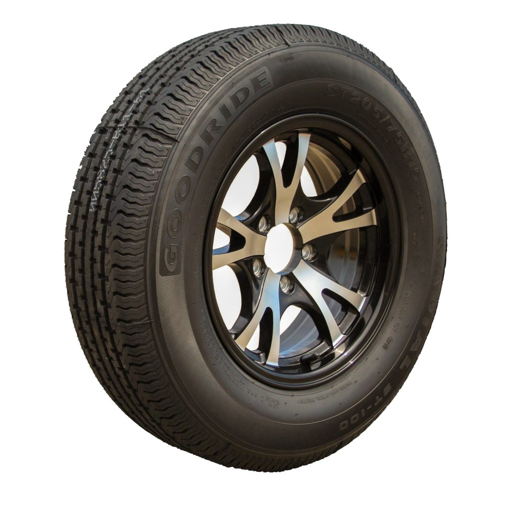 heavy duty trailer wheels and tires