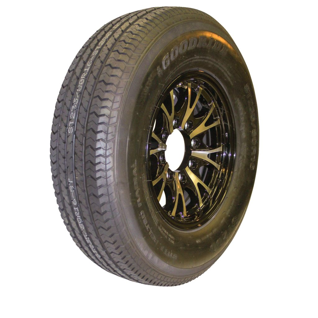 replacement trailer wheels and tires for sale
