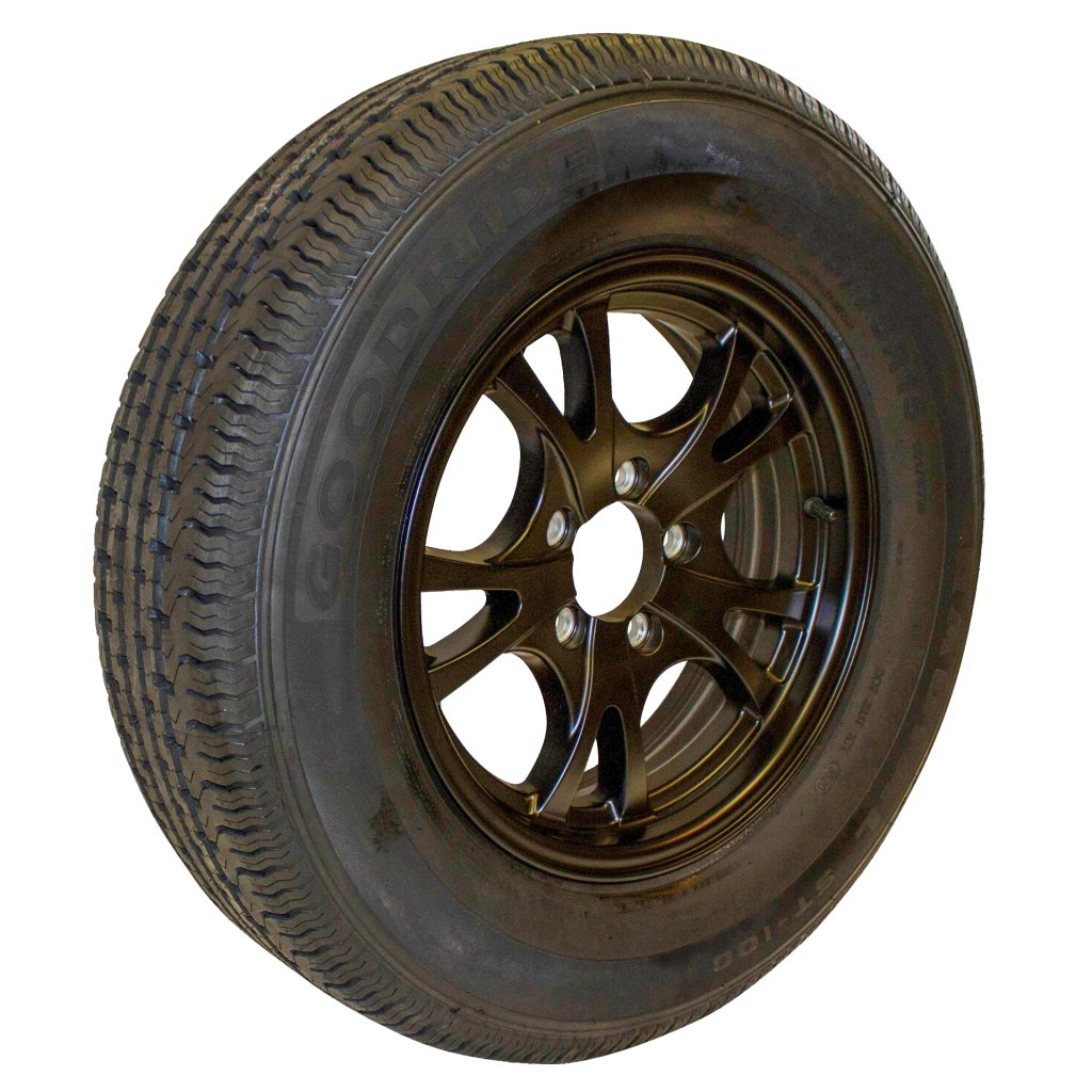 trailer wheels and tires with 6 lugs
