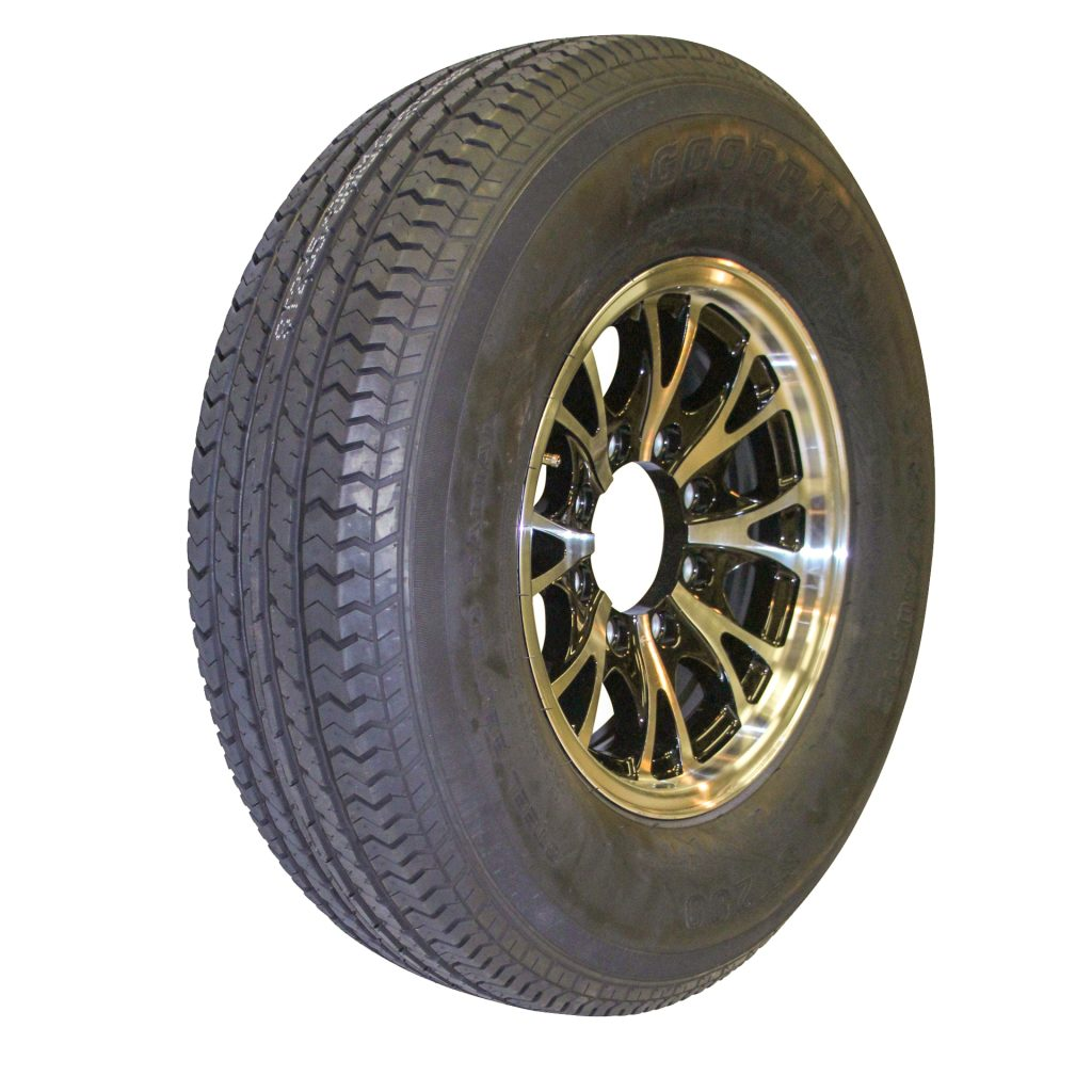 trailer wheels and tires with 8 lugs