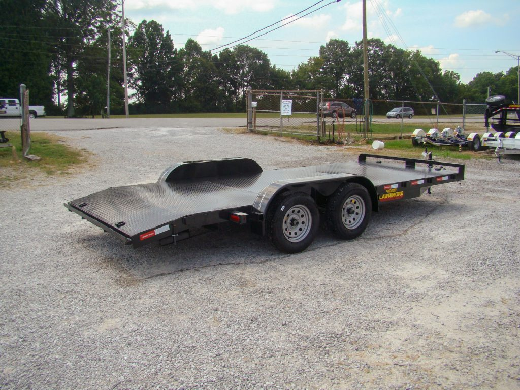 car hauler trailer with dovetail