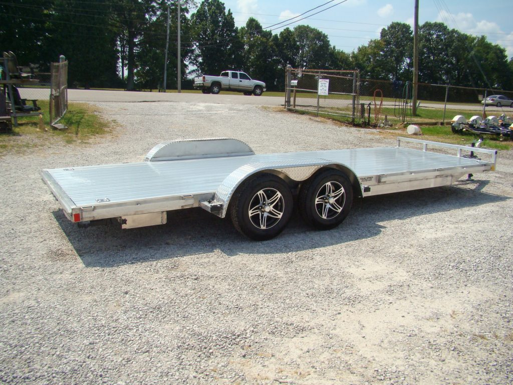aluminum car hauler trailer