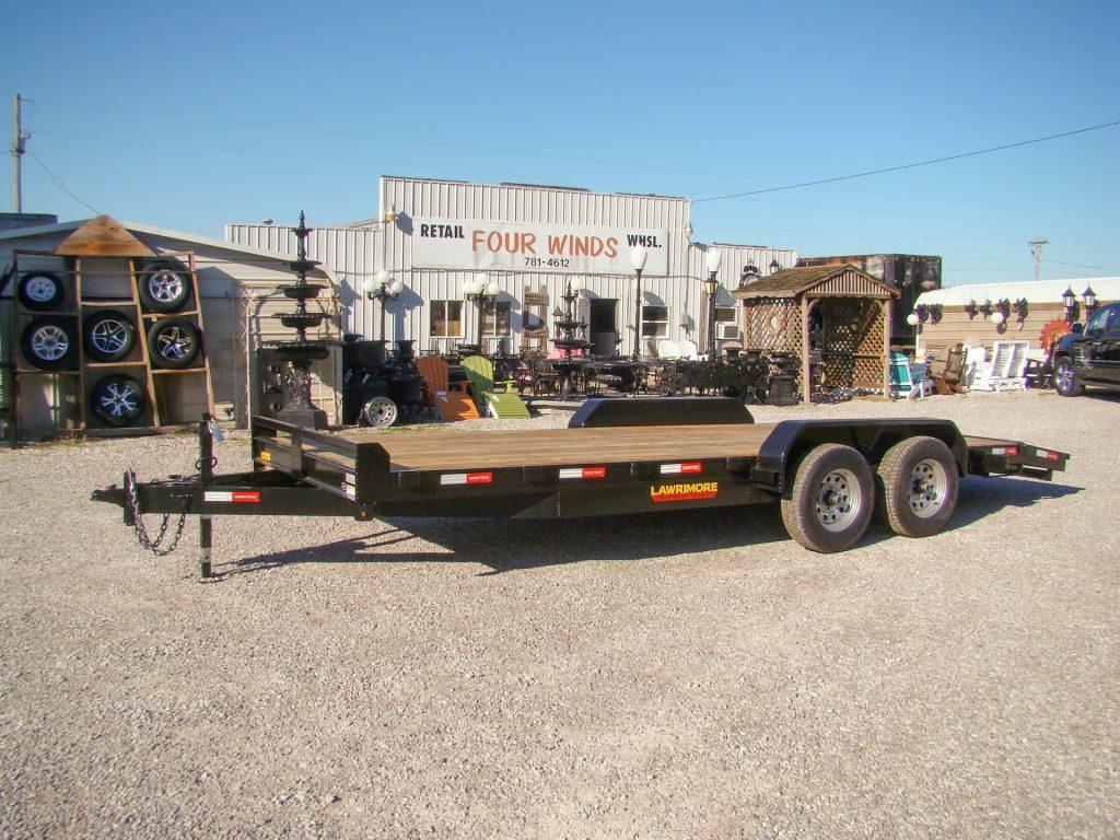 car hauler trailer with 10k ramps