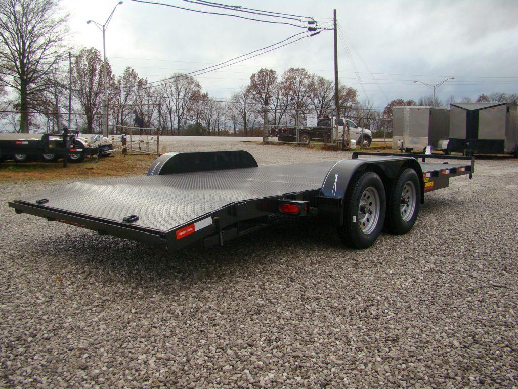 heavy duty car hauler trailer