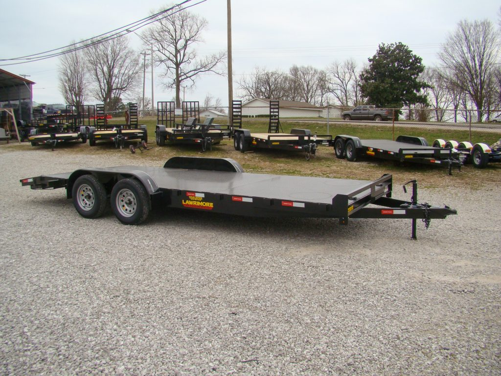 large car hauler trailer