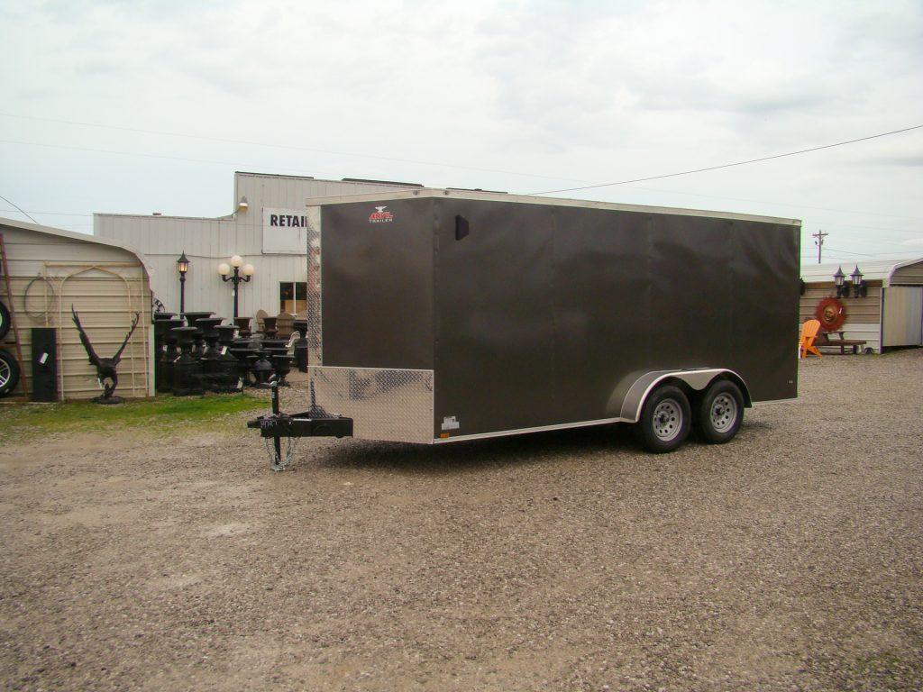 charcole small enclosed trailer