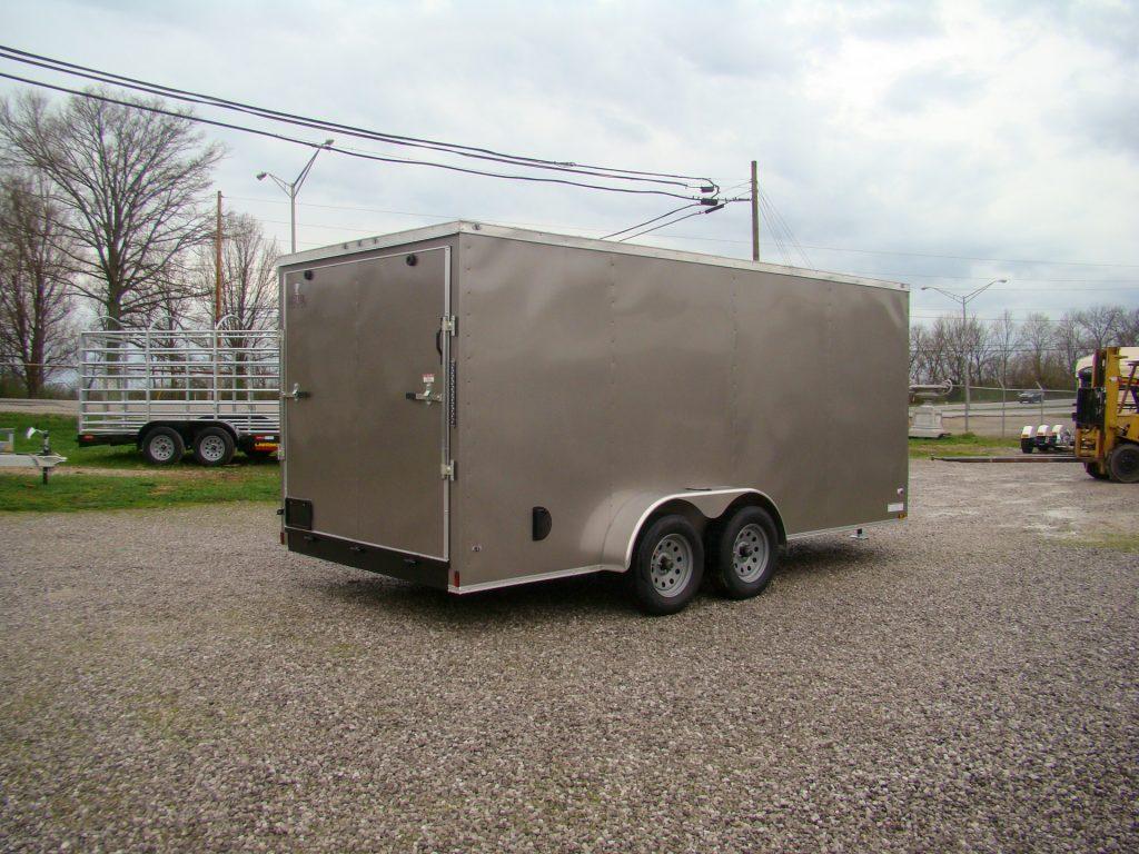 heavy duty small enclosed trailer