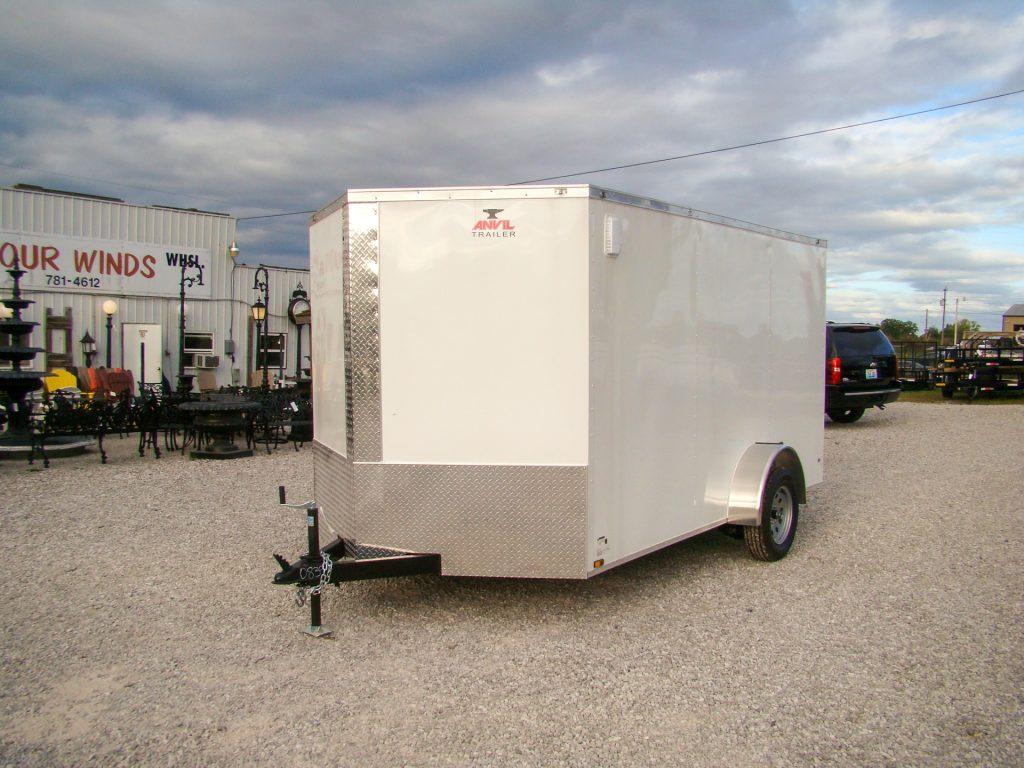 small enclosed cargo trailer
