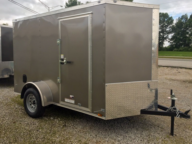 small enclosed trailer with hitch
