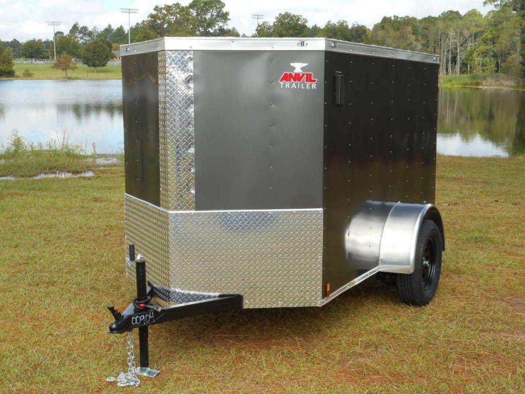 small enclosed trailer