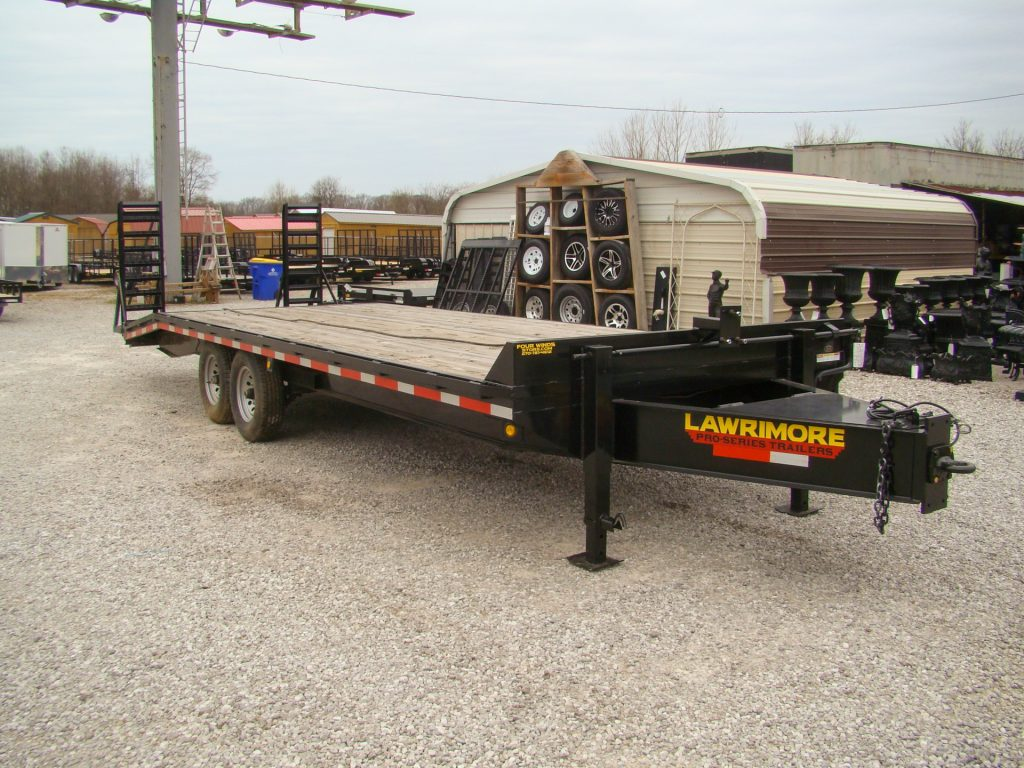 equipment trailers for sale with dovetail