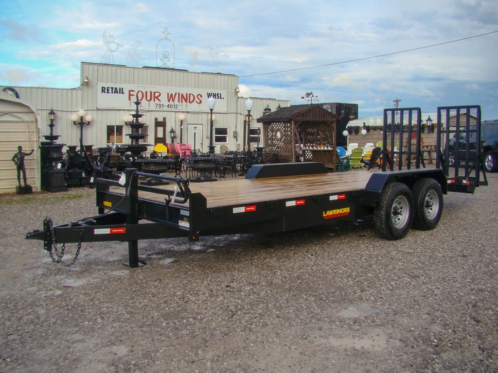 equipment trailers for sale with mega ramps