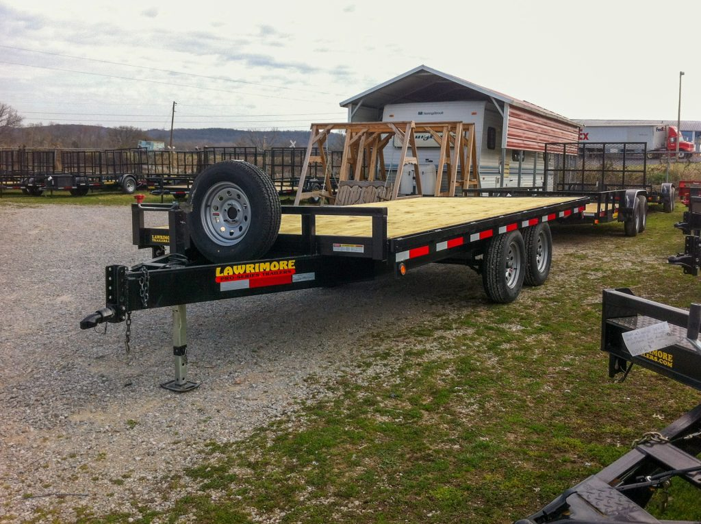 equipment trailers for sale with spare