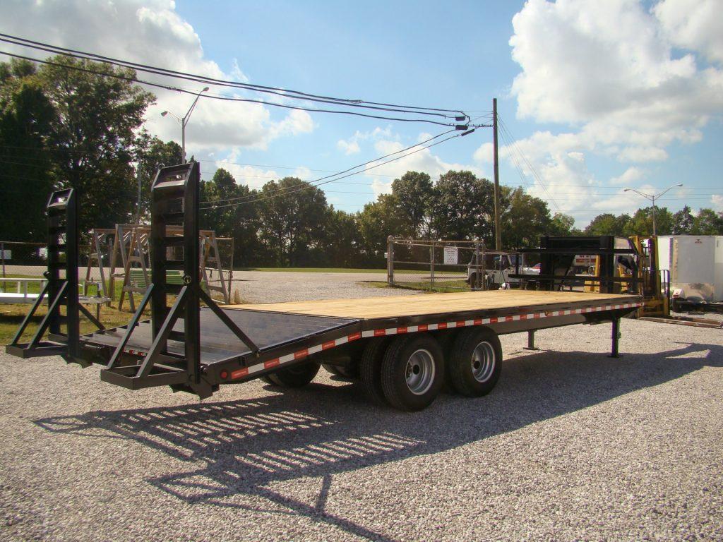 20k gooseneck flatbed trailer